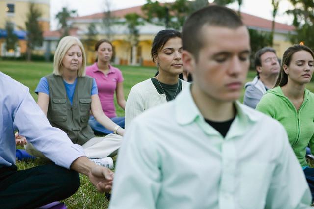 Group Meditating Together – Meditation and Modern Buddhism ...